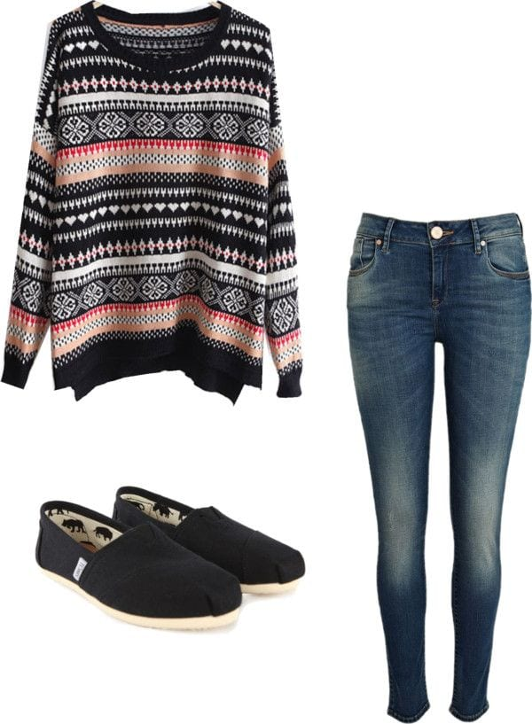 Winter Polyvore Combinations(16)