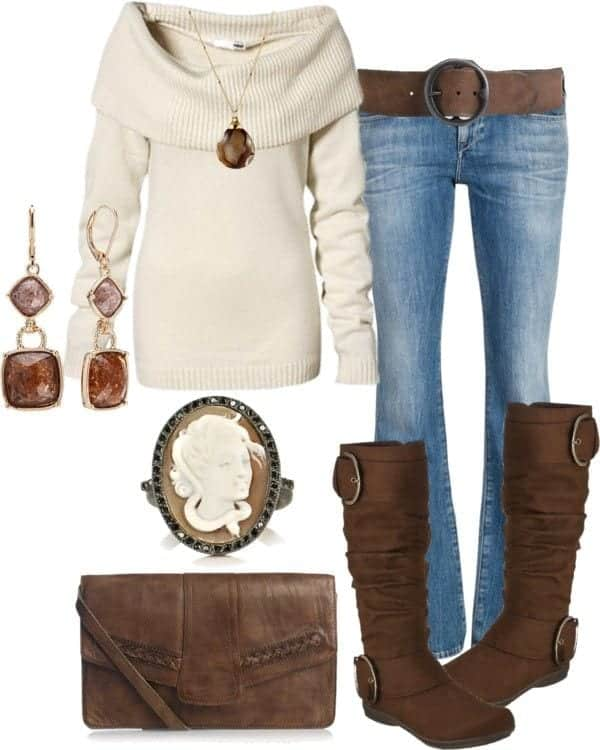 Winter Polyvore Combinations(17)