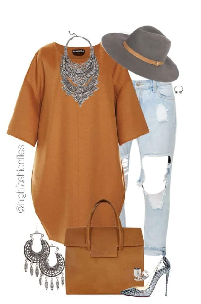 Winter Polyvore Combinations(21)