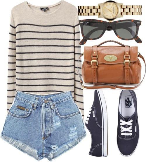 Cute High Waisted Shorts(15)
