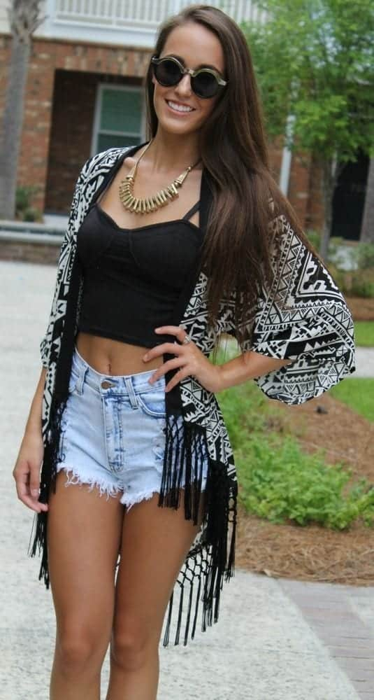 Cute High Waisted Shorts(20)