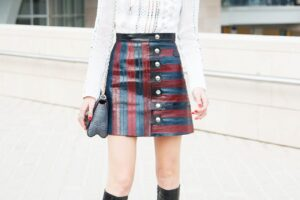 Outfits to Wear With Leather SKirts (2)