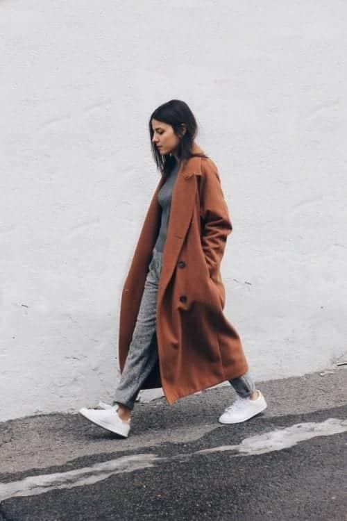 ideas to wear camel coats