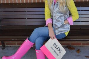 how to style hunter boots (11)