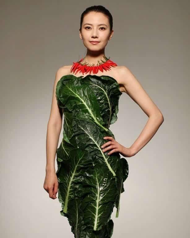 vegetable dress 1