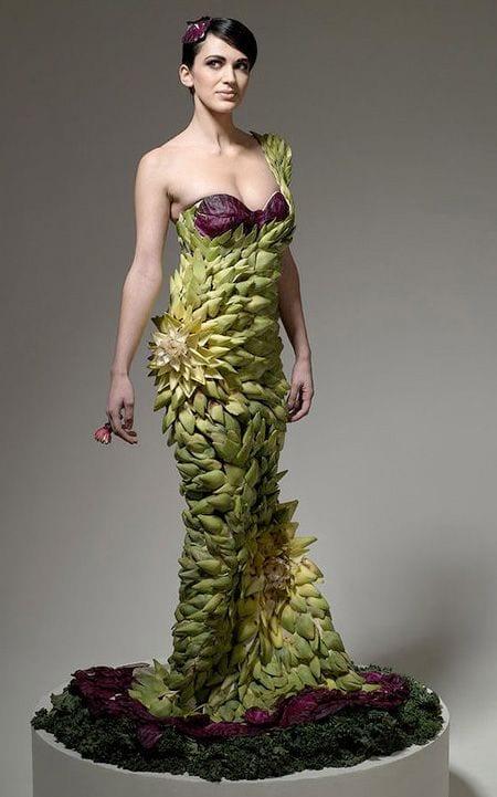 vegetable dress 5