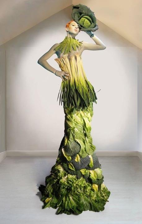 vegetable dress 6