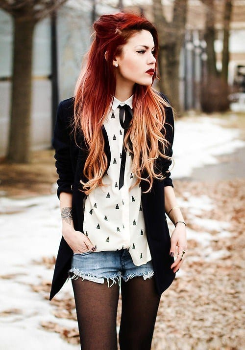 Cute Outfits for Red Haired Girls (7)