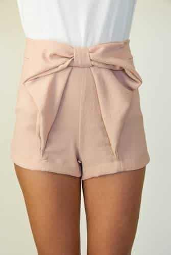 High waisted short outfits for girls 5