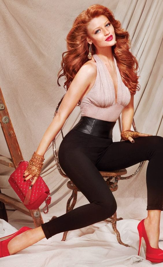 Cute Outfits for Red Haired Girls (4)