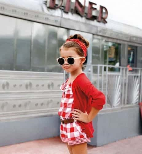 Kids outfit swag vintage style