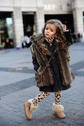 kids swag outfits with fur