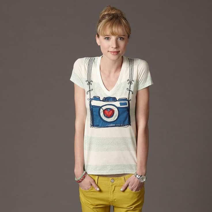 funky t shirt ideas for girls (15)