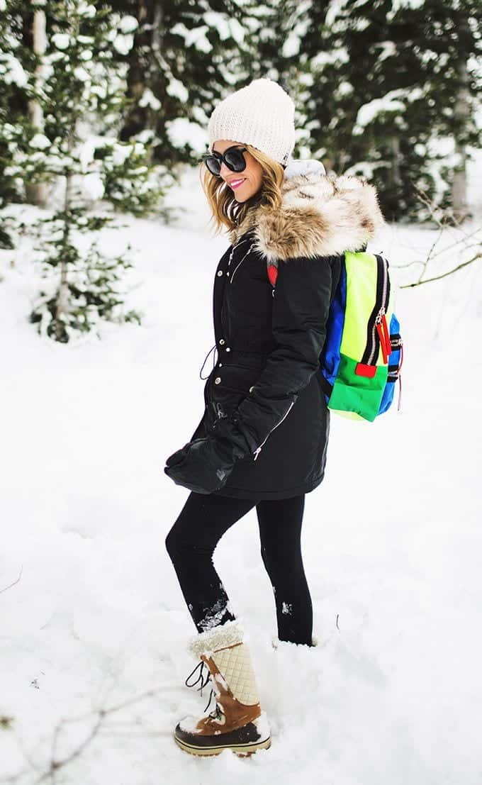 Snow Day Stylish Outfits- 18 Ideas What to Wear for Snow Day