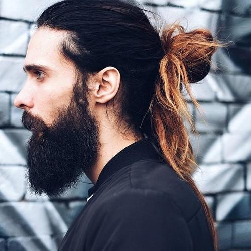 long hair styles men boys pony hairstyles 18 pony hair styling ideas 1301 | Boys Pony Hairstyles12