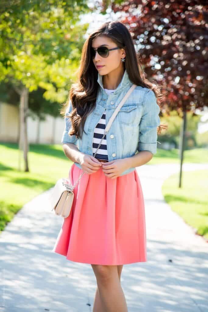 Light-wash-Denim-jacket-Summer-Outfit