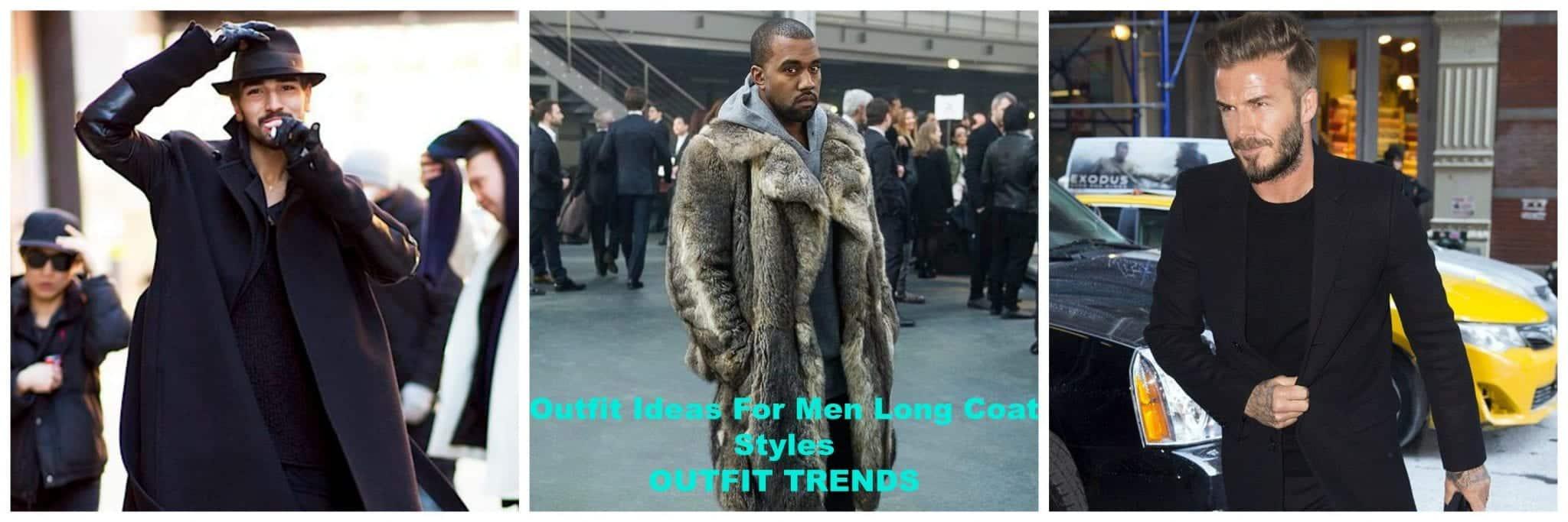 Men Long Coat Styles- 30 Best Outfits To Wear Long Down Coat
