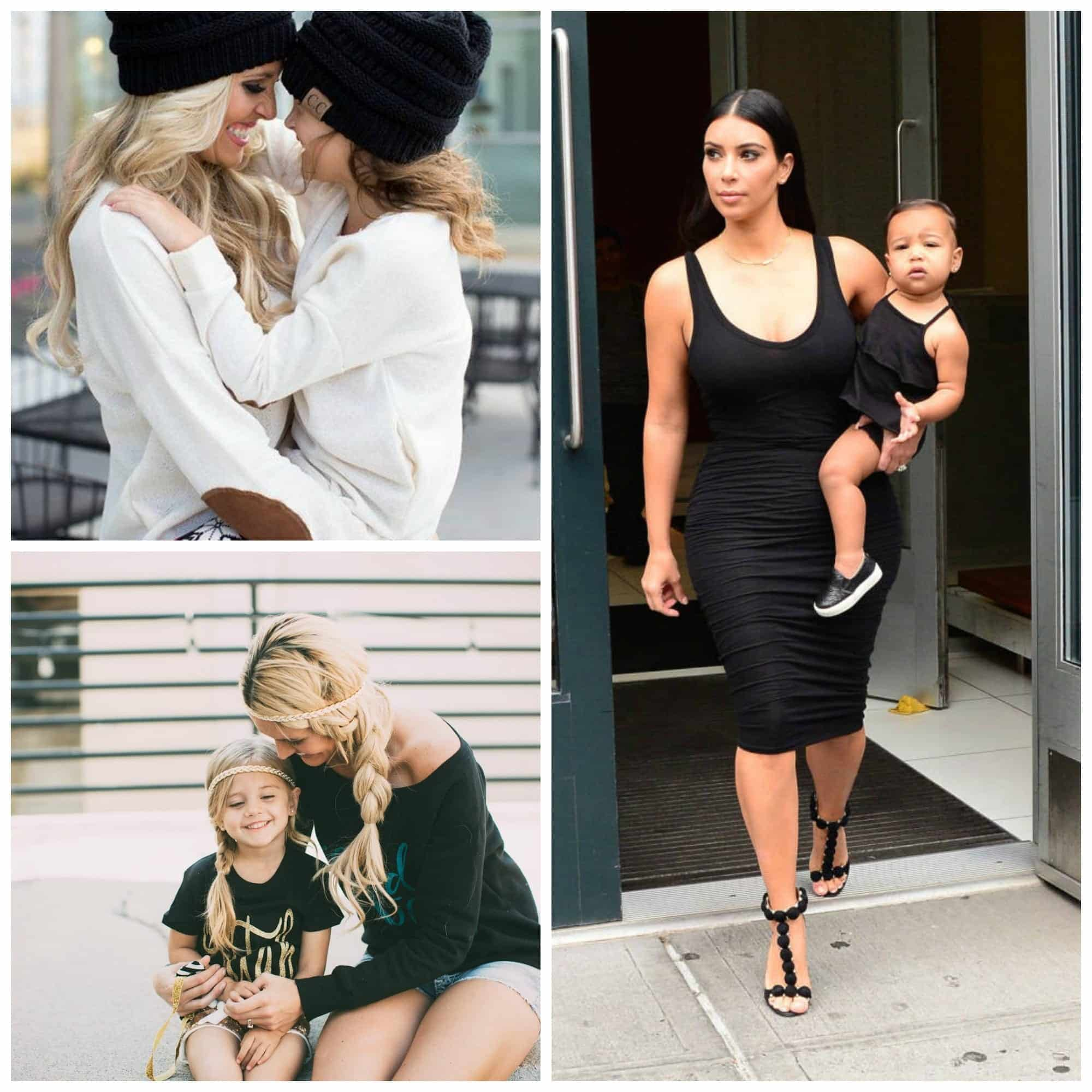 matching outfit ideas for mothers and daughters