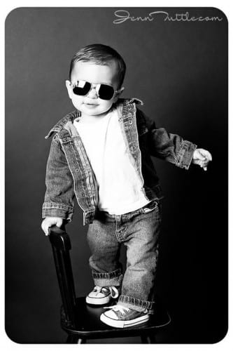 Kids swag outfits with denim clothes