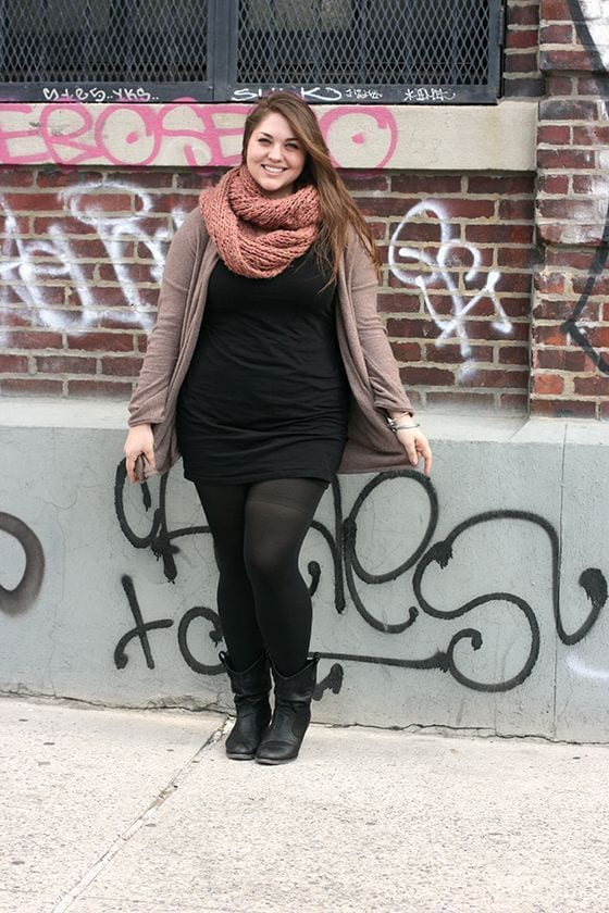 how to wear black tights (2)