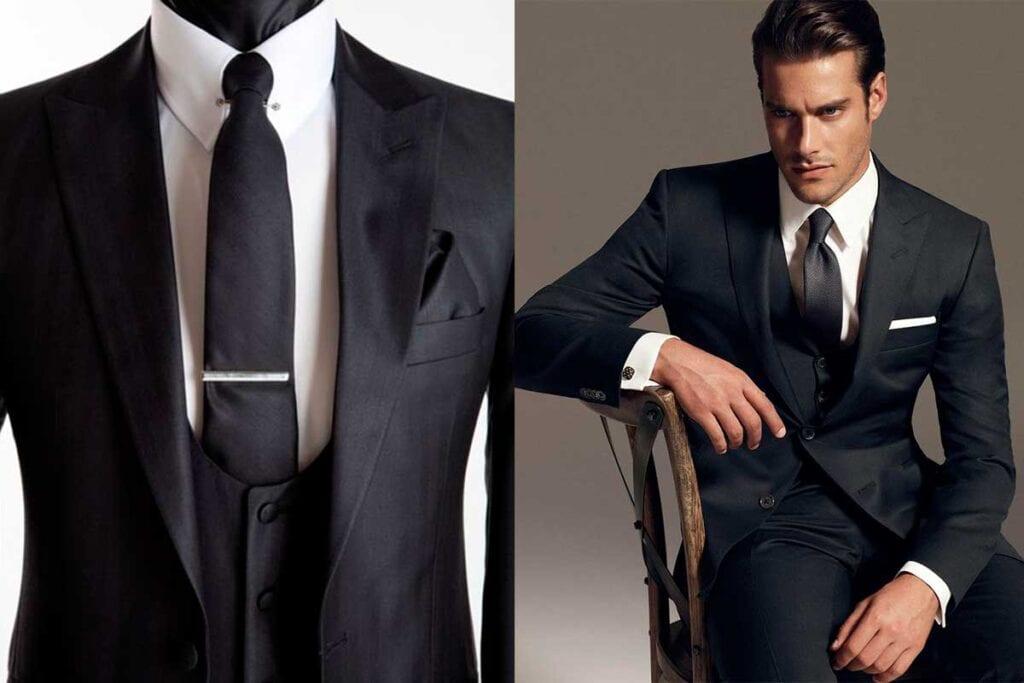 black-suit