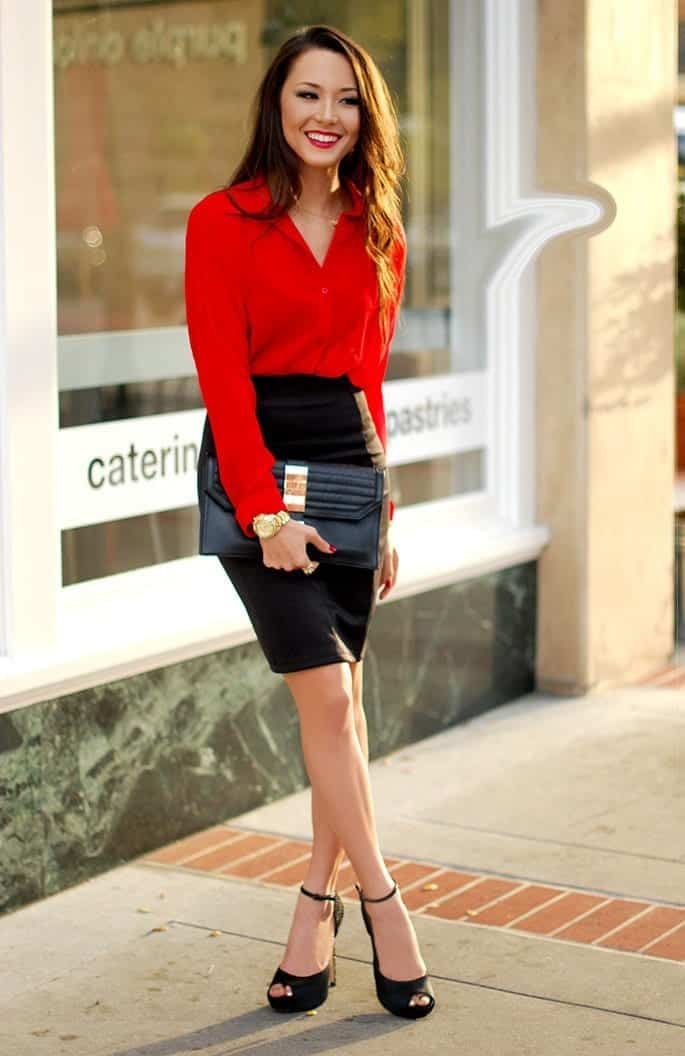 outfits with pencil skirt40 best ways to wear pencil skirts