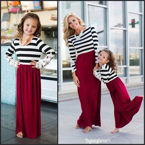 matching dresses for mothers and daughters (13)