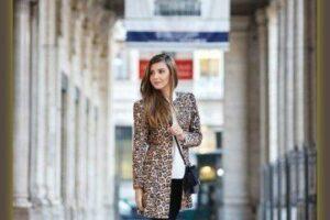 how to wear leopard coat
