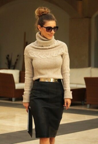 how to wear outfits with waist belts (14)