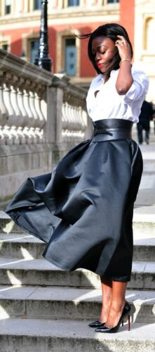 how to wear outfits with waist belts (16)