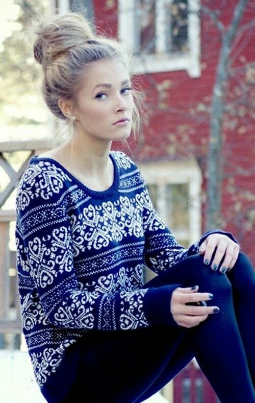 winter outfits with jumpers (1)