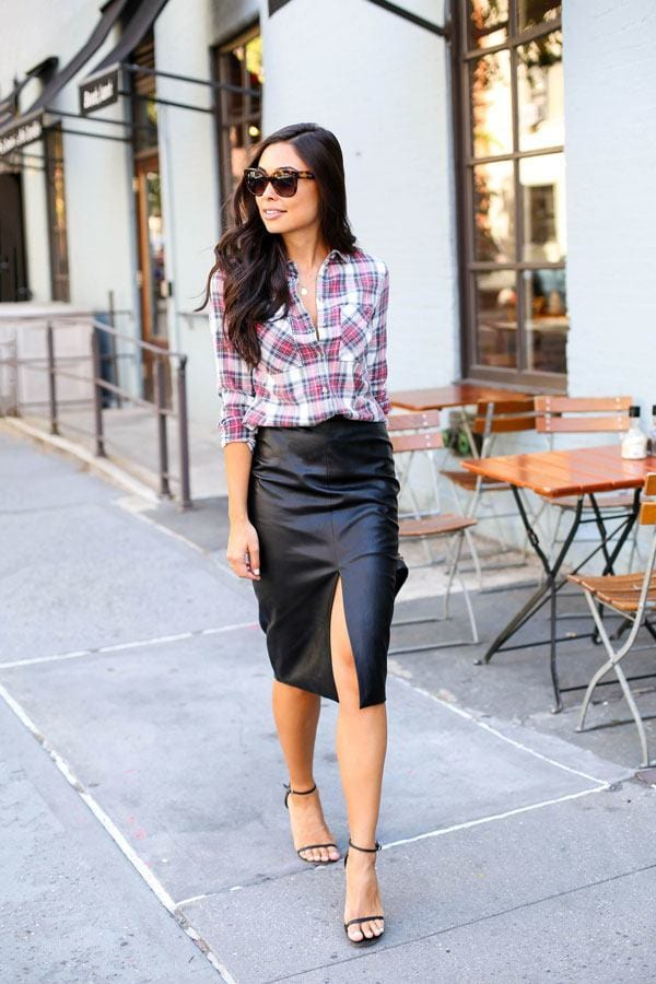 pencil skirt outfit ideas 25