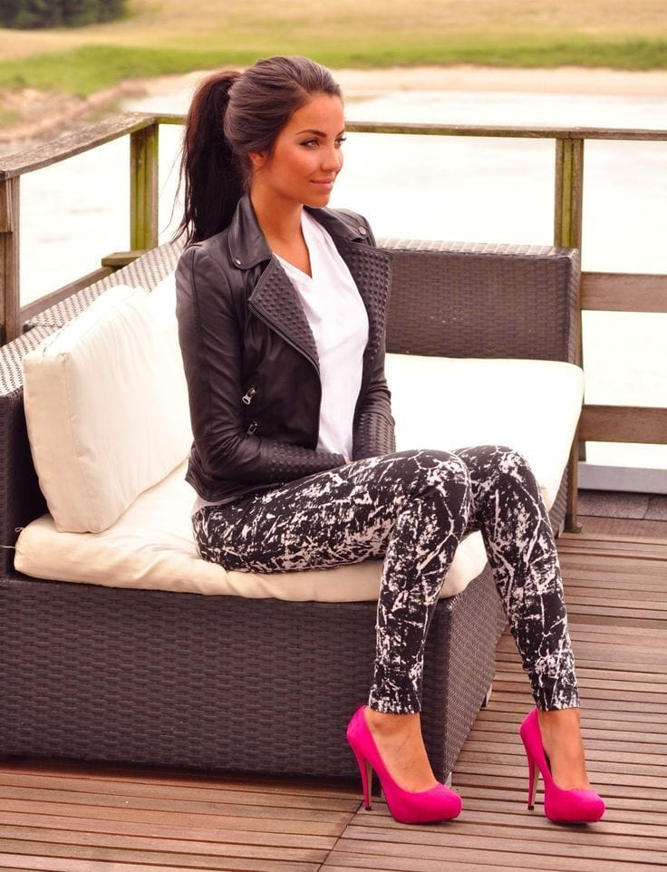 what to wear with patterned tights (1)