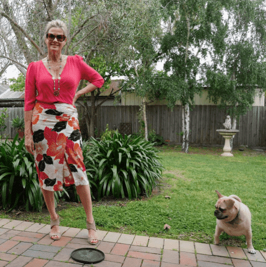 pencil skirt outfits for 50 plus women