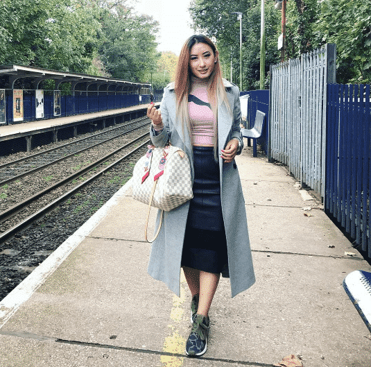 pencil skirts with sneakers