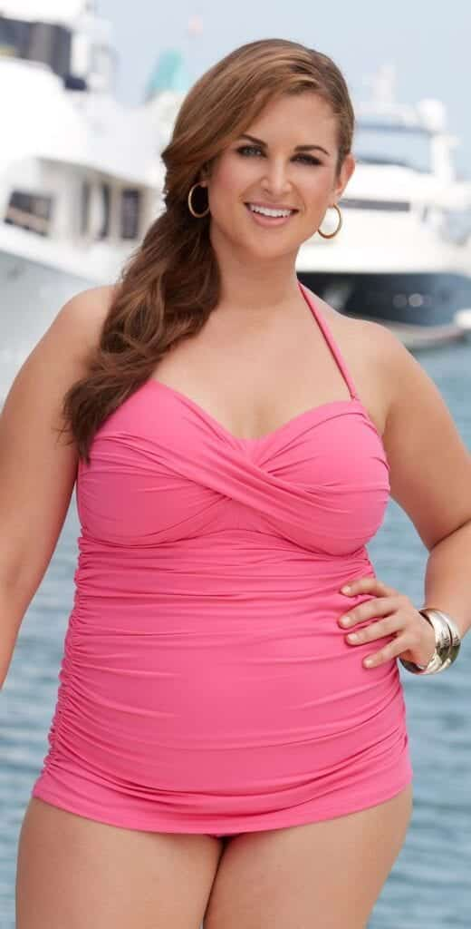 pink outfits for plus size girls (19)