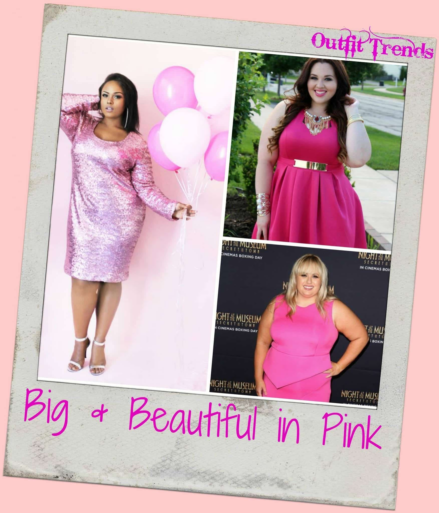 b29ed4d12d35a 20 Pink Outfit Ideas for Plus Size Women for Chic Look