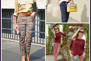 Ideas for Bottom Heavy Women to Wear Printed Pants (1)