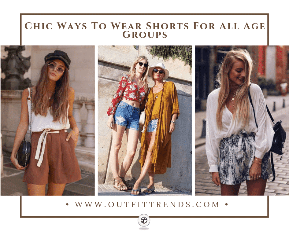 Outfits with Shorts – 27 Chic Ideas How to Wear Shorts