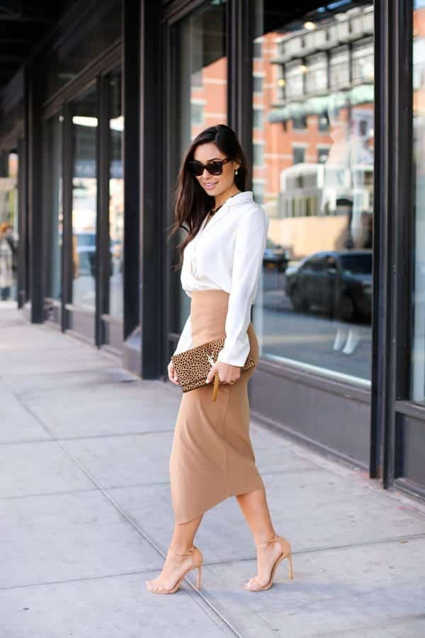 pencil skirt outfit ideas 4