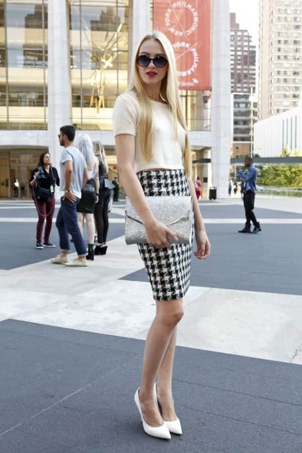 pencil skirt outfit ideas 24