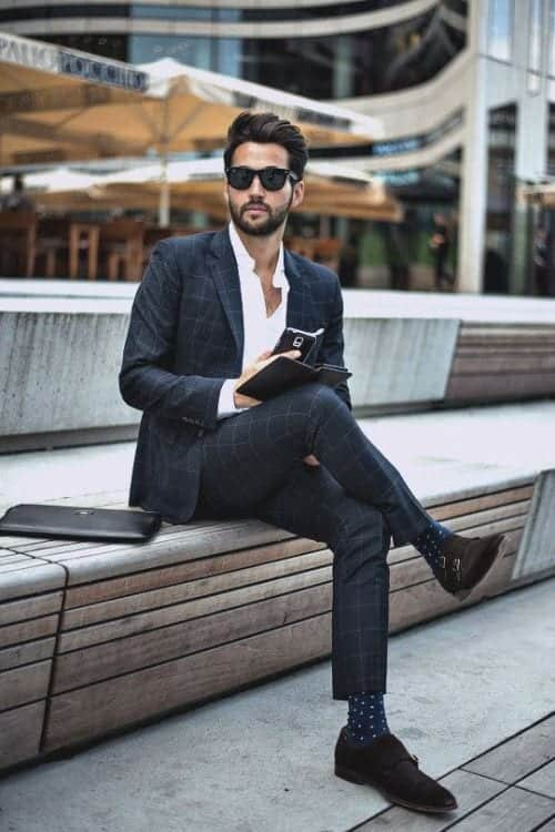 How to Wear Formal Shoes Styles (7)