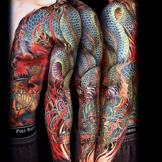 Amazing Tebori Irezumi Tattoos (1)