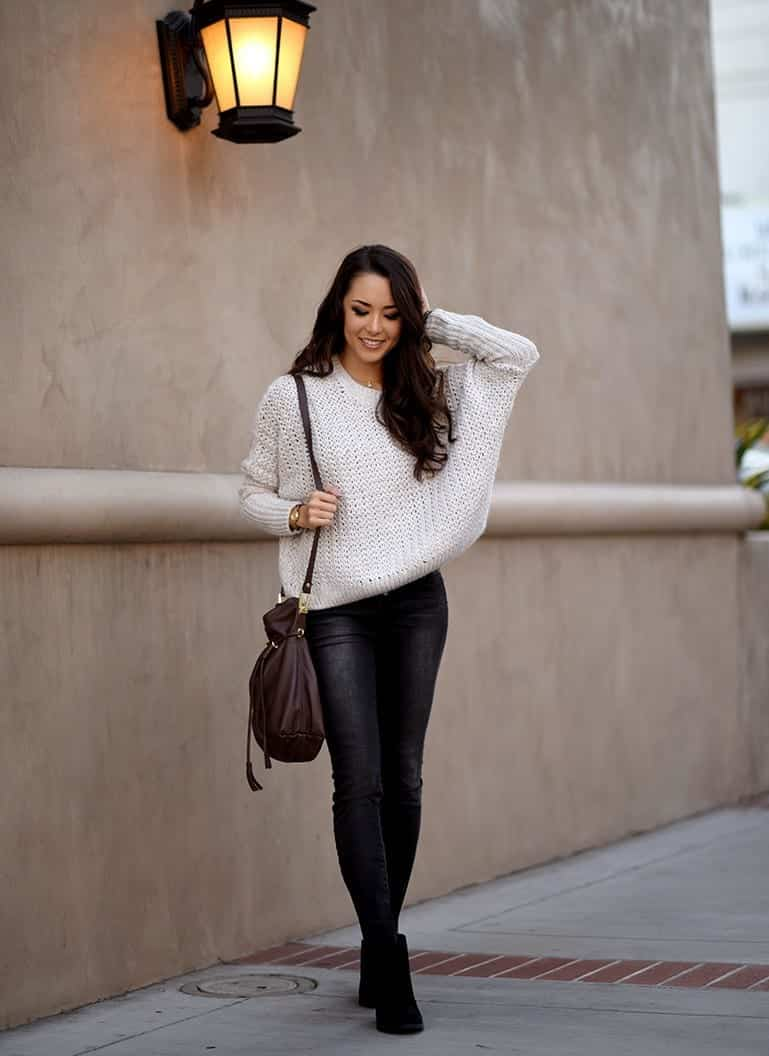 Cozy Winter Outfit Idea-20 Cute and Warm Outfits for Winters