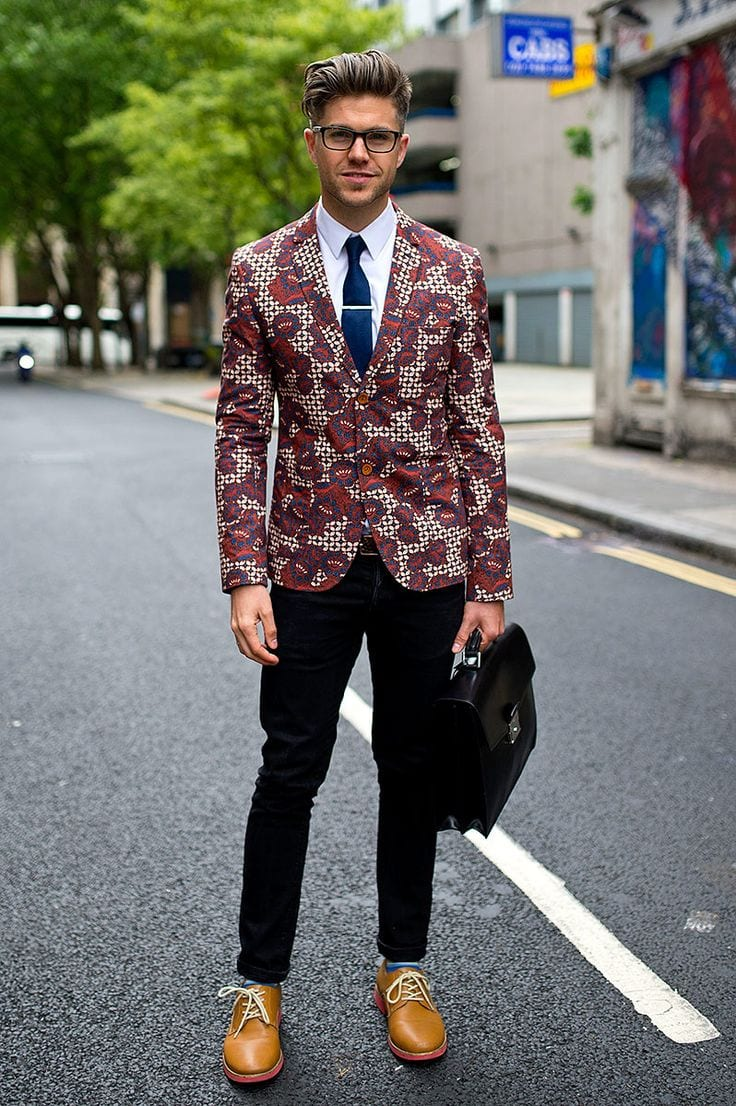 Men Blazer Styles -18 Latest Men Casual Outfit with Blazer