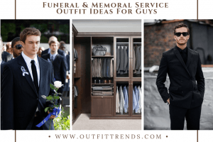 what to wear to funeral for men