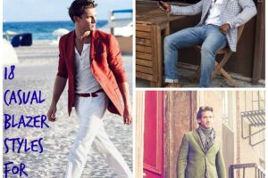 men blazer outfits