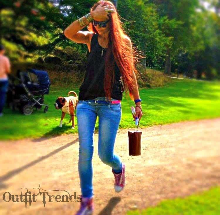 outfit ideas with red hairs
