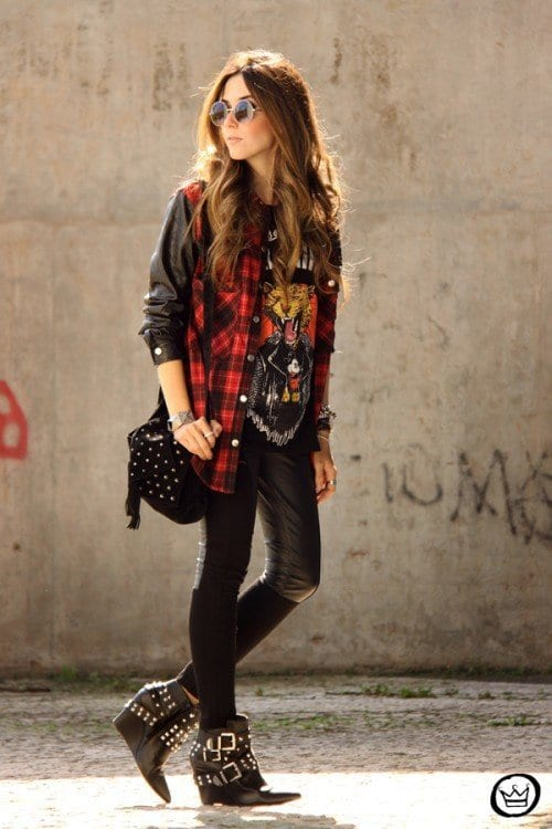 innovative outfits rockeros mujer 11