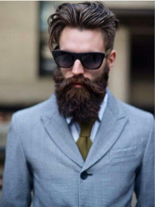 cool hair and beard styles 26 cool beard styles for hair for look 9333
